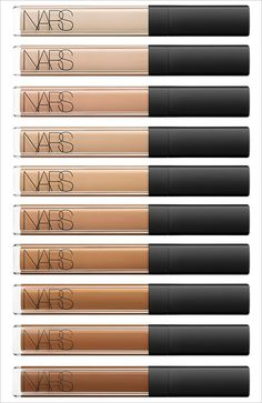 NARS Radiant Creamy Concealer. The best under eye concealer that doesn't crease and lasts all day! I have it in caramel and it is the perfect shade for skin!
