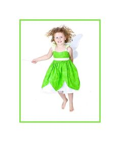 Faith, trust and Pixie Dust!    Ollie Girls My Fairy Friends© presents Tinkerbell!    This sweet sundress is perfect for your spring and summer