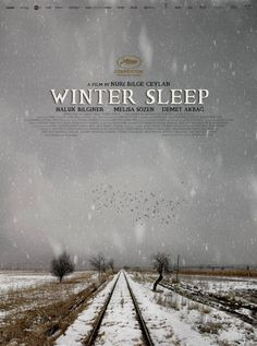 """Kış Uykusu / Winter Sleep"" (2014) Turkey's Nuri Bilge Ceylan has won the Palme d'Or at the Cannes Film Festival for his film Winter Sleep."