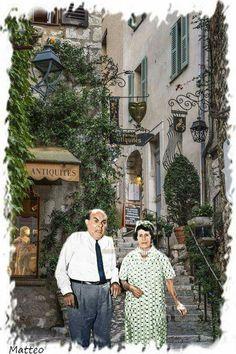 Cinema Theatre, Classic Movies, Impressionist, Actors & Actresses, Nostalgia, Greek, Bob, Memories, Couple Photos