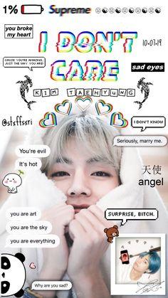 Bts Taehyung, K Pop, Kpop Tumblr, Bts Wallpaper Lyrics, V Bts Cute, Bts Aesthetic Pictures, Bts Drawings, Bts Chibi, Bts Lockscreen
