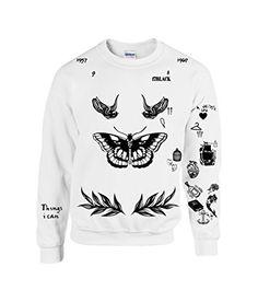 Allntrends Harry Style Sweatshirt Tattoo One Direction Shirt...