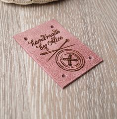 Custom leather labels, set of 25 LeatherGoodsCo $23 + ship, many colors avail Leather Label, Custom Leather, Personalized Labels, Custom Labels, Label Tag, Craft Show Ideas, Fashion Tag, Kids Branding, Craft Business