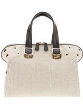 FENDI - jute shoulder bag