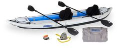 FastTrack Inflatable Kayaks – Patented Inflatable Keel for straight tracking and Smooth Paddling On my wish list!
