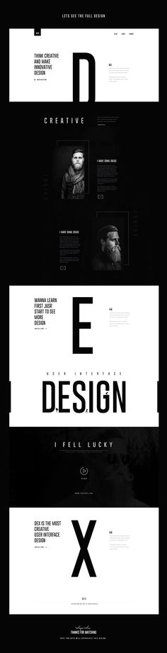 Ознакомьтесь с этим проектом @Behance: «DEX : Creative Landing Page Design» https://www.behance.net/gallery/42274399/DEX-Creative-Landing-Page-Design