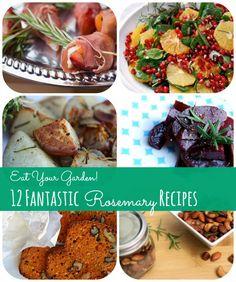 Eat Your Garden! 12 Fantastic Fresh Rosemary Recipes