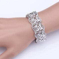 Vintage Look Chunky Bracelet