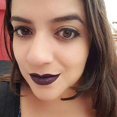 Presente pra ser dark lá nas terras uberlandenses 💀 Obrigada, @deiaovieira 😘😘 #batomDarkLolita #darklolita #karenbachini #tblogs