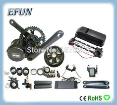 546.00$  Watch here  - High power 8Fun/Bafang BBS02 36V 500W mid drive motor kits with 36V 11.6Ah USB down tube battery for fat tire bike/city bike
