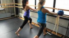 some more barre work from 1:40