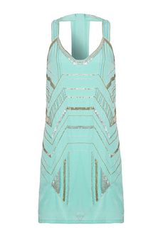 Yumi Art Deco embellished dress (£25, originally £65)
