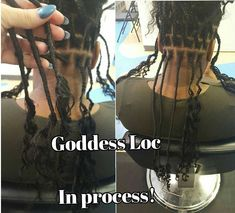 Goddess locs/Bonet locs tutorial