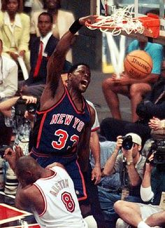 Pic says it all...Patrick Ewing #patrickewing #nba #90s