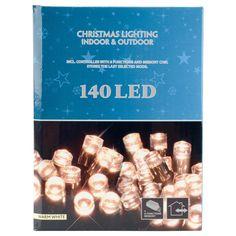 kerstverlichting LED 140lamps 8 functies