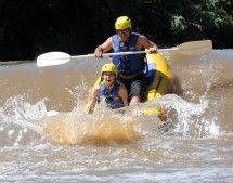Outside Adventures - Abseiling and River Rafting. River rafting on the highveld Crocodile River, with grade 1 and 2 rapids suitable for families, friends, corporate groups, bachelor and birthday parties and any other event. Our adventures are great fun for the average Joe, no previous experience, fitness or skill level required. We will provide you with all gear and equipment, with highly qualified professional guides to ensure your safety at all times.