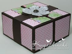 Stempeleinmaleins: Geschenkbox ~ Gift box