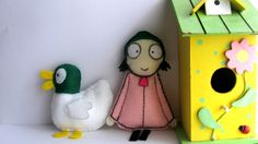 How to make Sarah and Duck soft toys 1 (quick and easy tutorial)