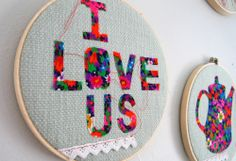 embroidery hoop art.