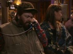 """Roseanne dressed up as """"Bob"""" in episode """"Trick or Treat"""""""