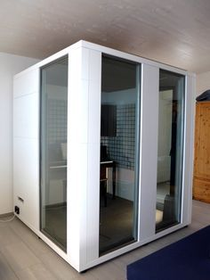 Image result for studiobricks acoustic glass booth