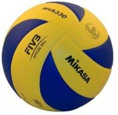 Piłka siatkowa Mikasa MVA 330 - Wysokiej jakości oficjalna piłka do siatkówki halowej wykonana z miękkiej skóry syntetycznej. $35