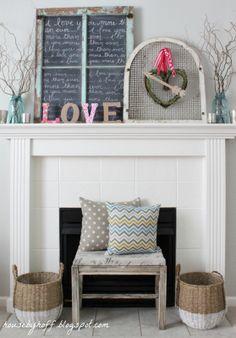 House by Hoff: Heart & Arrow Valentine Wreath {It's $30 Thursday!}