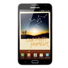 Samsung N7000 Galaxy Note 16GB Android. The ultimate device which consolidates core benefits of diverse mobile devices while maintaining smartphone portability. It has a 5.3-inch Super AMOLED screen and sports an 8MP rear camera and 2MP upfront.