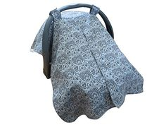 Cozy Baby Velcro Opening Baby Car Seat Canopy with Bandanna Bib Grey Cheap Infant Car Seats, Toddler Car Seat, Baby Car Seats, Things To Buy, Stuff To Buy, Baby Wraps, Happy Kids, New Moms, Kids And Parenting