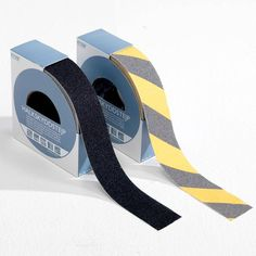 Slips and falls can be prevented by installing hazard warning tapes on floors or walls for alerting people about wet or damaged floors.