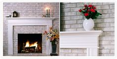 brick anew - treatment for brick fireplaces
