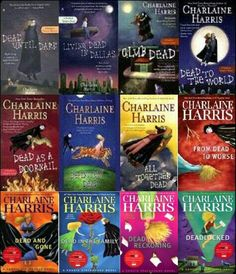 Sookie Stackhouse series. Have read all. loved this series but hated the final book. The show True Blood is nothing like the books.