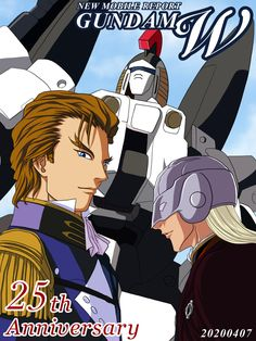 Gundam Wing, New Mobile, 25th Anniversary, Wings, Anime, Cartoon Movies, Anime Music, Feathers, Feather