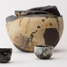 Ceramist Andoche Praudel (French: 1950)