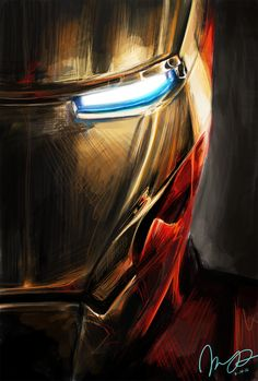 #Iron #Man #Fan #Art. Iron Man Fan Art, Ironman, Marvel Comics, Bd Comics, Marvel Heroes, Marvel Avengers, Hulk Esmaga, Hulk Spiderman, Man Portrait