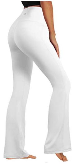 7ffabe4a5e9f3 White Yoga Pants. Bubblelime yoga pants are non see-through, four-way