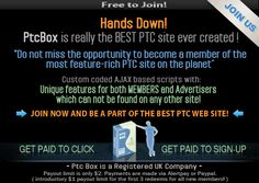 Get Paid to click - Earn up to $0.10 per visit  Get Paid to sign up - Earn up to $100 for each offer  Get paid instantly - Payments within seconds!  Get paid via Paypal or Alertpay - Low $2 payout limit *