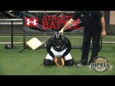 Bill Ripken discusses the proper fundamental approach to blocking pitches in the dirt.