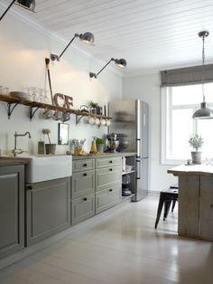 Zdjęcie: kinkiety  w kuchni