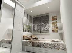 Desain Kamar Tidur Anak Warna Putih