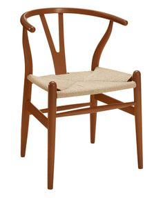 Wishbone Dining Chair - Medium Brown