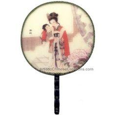 Chinese silk fan