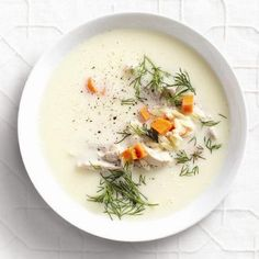 Lemony greek soup | Chatelaine December 2012