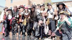 Photo: The Valhallas Pirates at a Pirate Event at the National Geographic Museum in Washington, DC.
