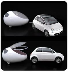 FIAT 500 Lounge Pod!OMG! Please let this be real!