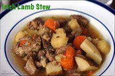 Irish Lamb Stew, gluten free whole food goodness