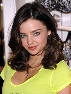 Miranda Kerr with mid-length wavy hair. http://beautyeditor.ca/2013/06/13/does-your-hair-only-look-good-when-you-curl-it-heres-the-cut-bill-angst-recommends-for-reader-courtney
