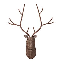 FrancFranc Deer Trophy Lamp is the quirkiest wall lamp decor ever!