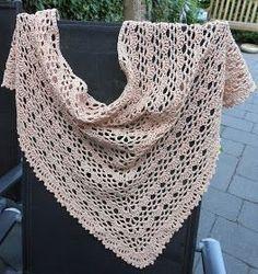 Haakpatroon Zomershawl / free crochet pattern