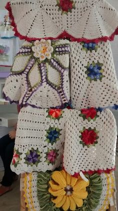 Também tem crochê.